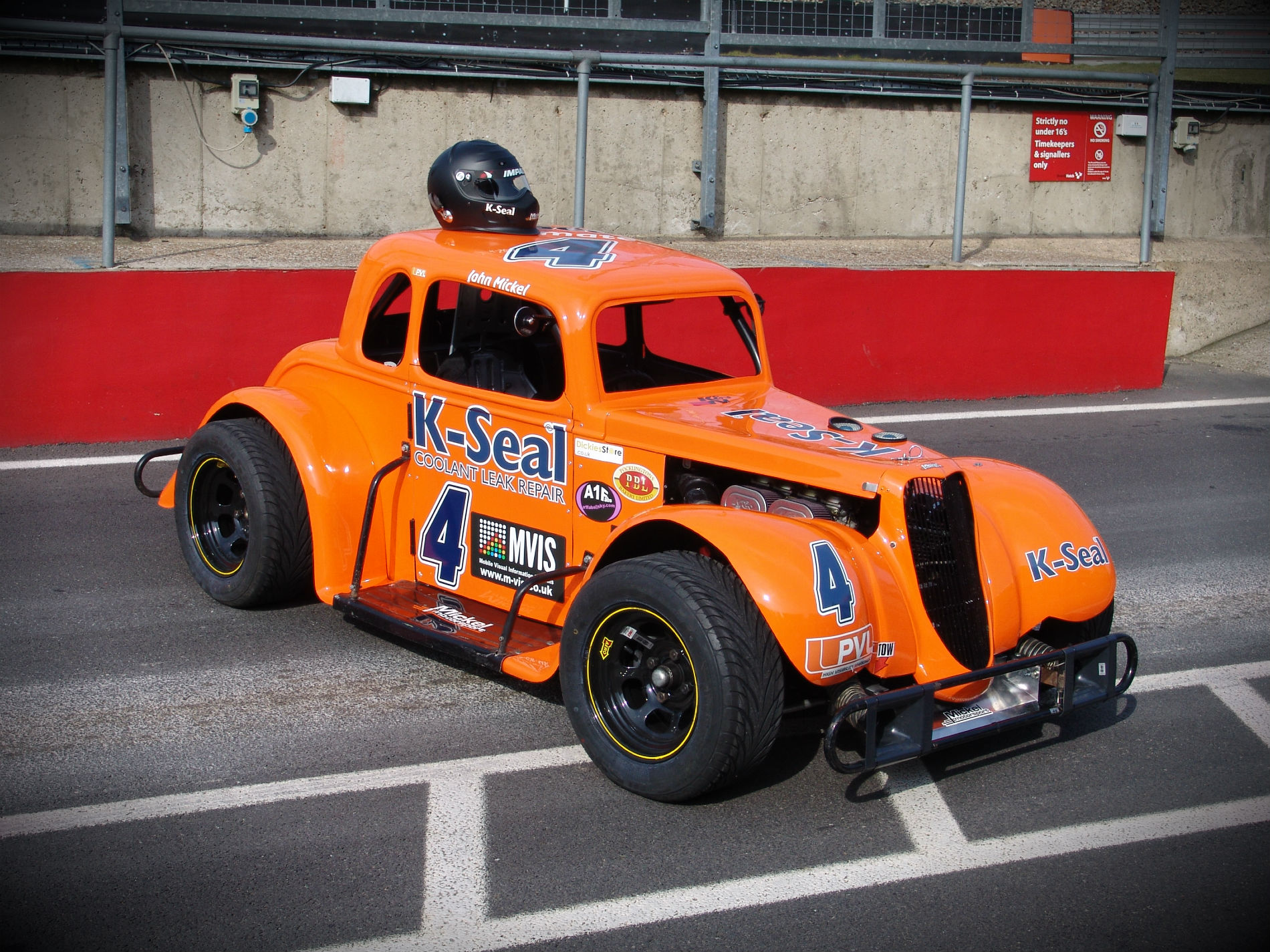 K-Seal Racing Sponsors Mickel Motorsport