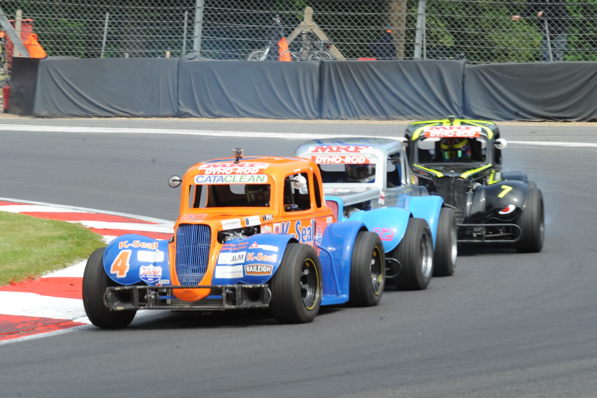 Four Different Winners During Spectacular American Speedfest At Brands Hatch